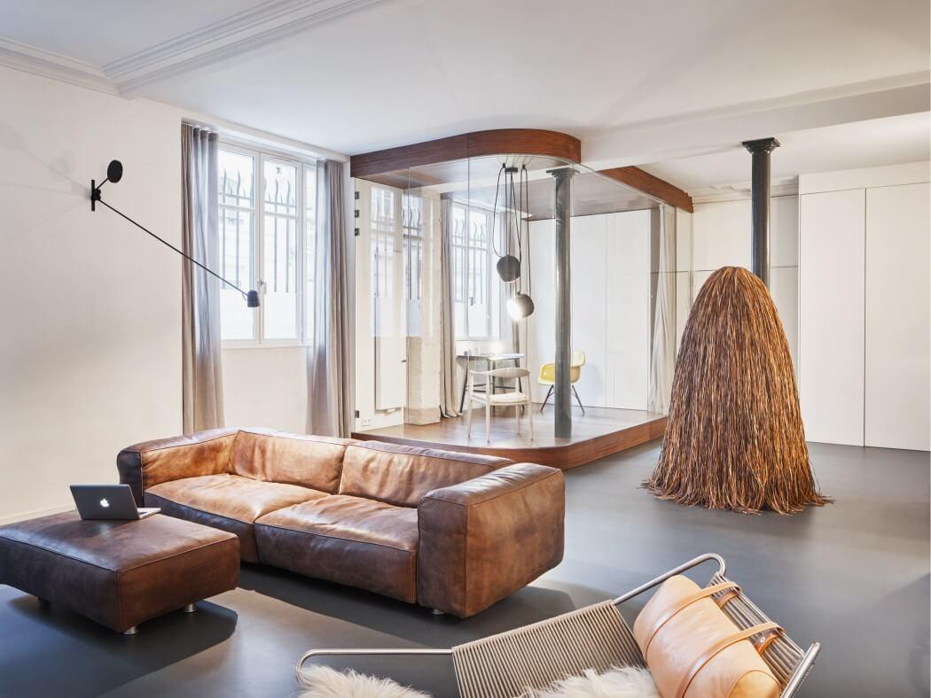 парижки апартамент с необичайни детайли_2