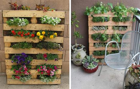 поливане вертикална градина