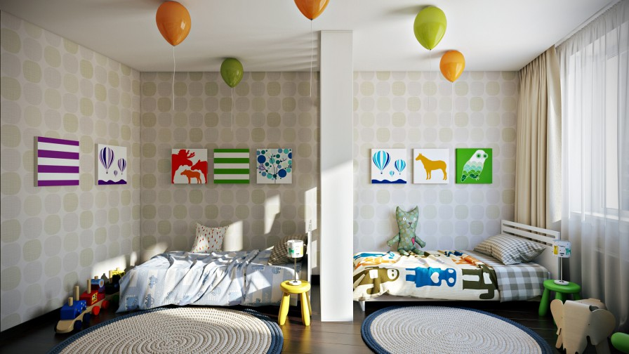 споделена детска стая