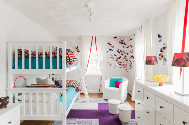 7 Inspiring Kid Room Color Options For Your Little Ones: Идеи за споделена детска стая