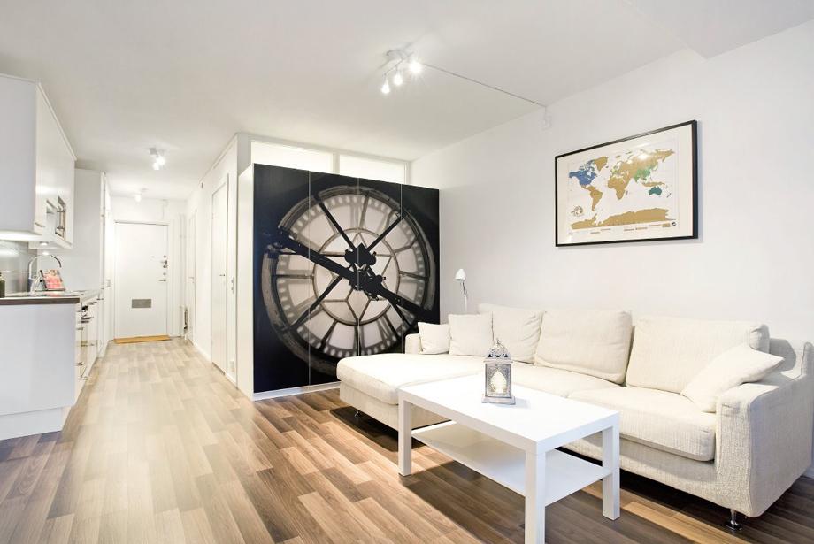 35 кв. м апартамент с отделена спалня в Стокхолм_1