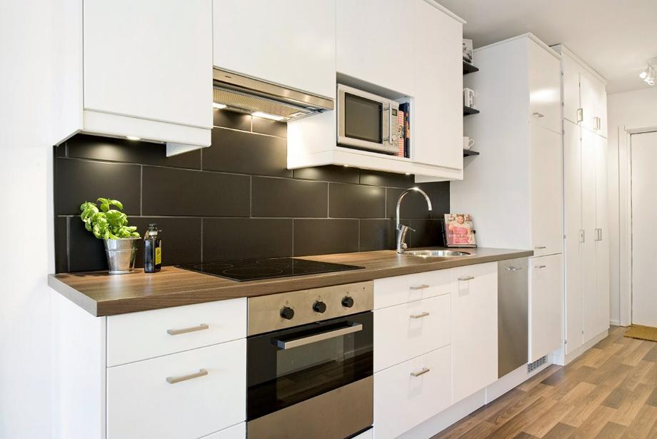 35 кв. м апартамент с отделена спалня в Стокхолм_4