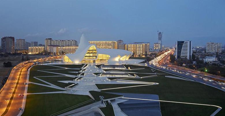 Културният център в Баку Заха Хадид_4
