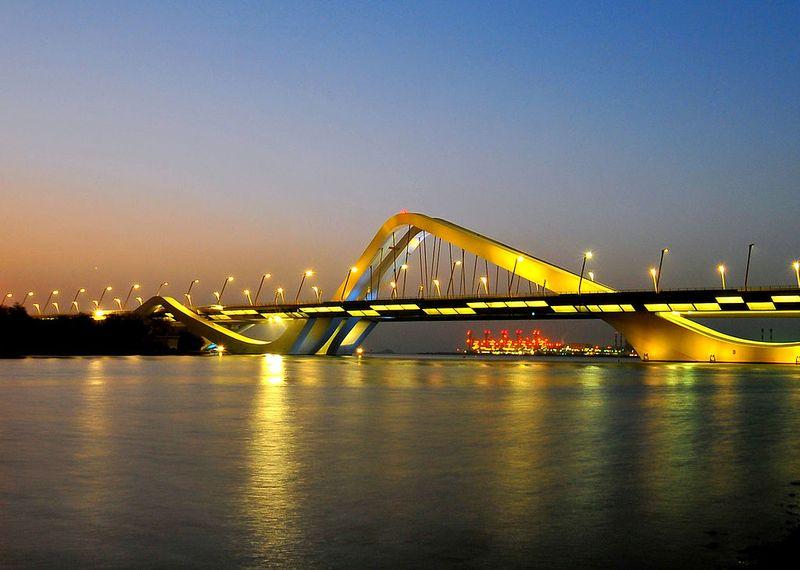 Мост Шейха Зайда Заха Хадид_1