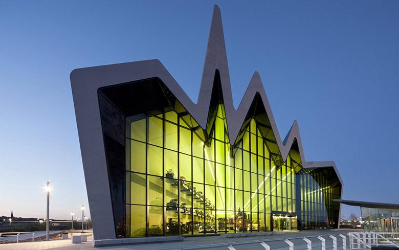 Музей на транспорта Глазгоу Заха Хадид_1