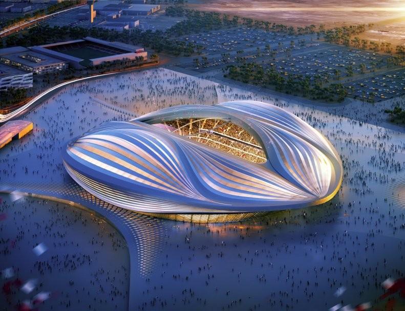 Стадион в Катар Заха Хадид_1