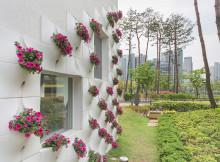 вградени саксии с цветя във фасада_1