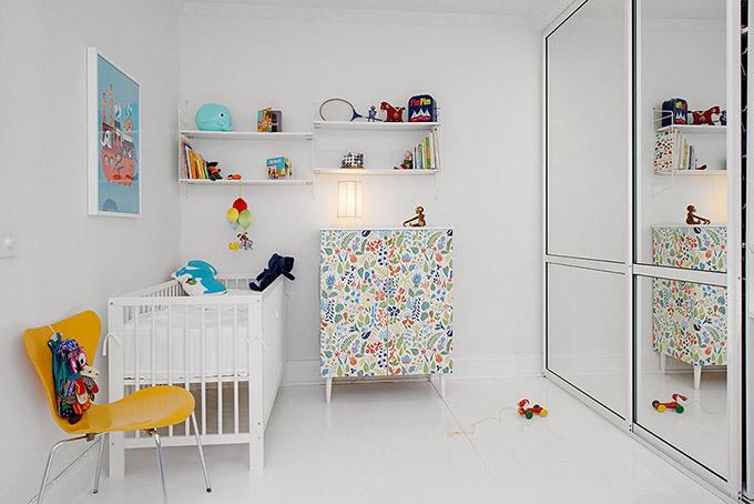 светъл мезонет в скандинавски стил_детска стая 1
