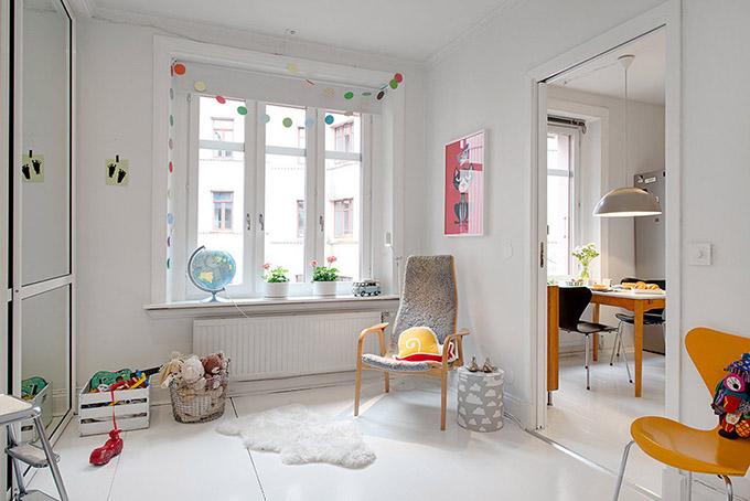 светъл мезонет в скандинавски стил_детска стая 3