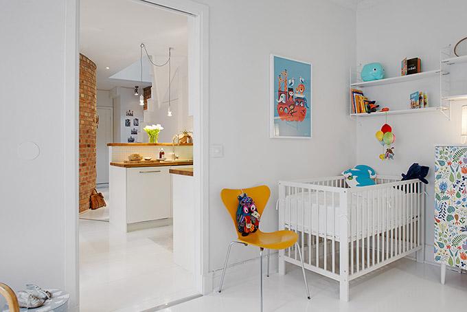 светъл мезонет в скандинавски стил_детска стая 4