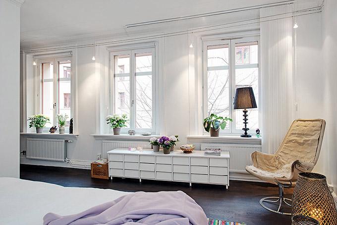 светъл мезонет в скандинавски стил_спалня 3