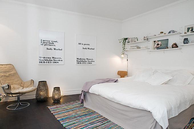 светъл мезонет в скандинавски стил_спалня 4