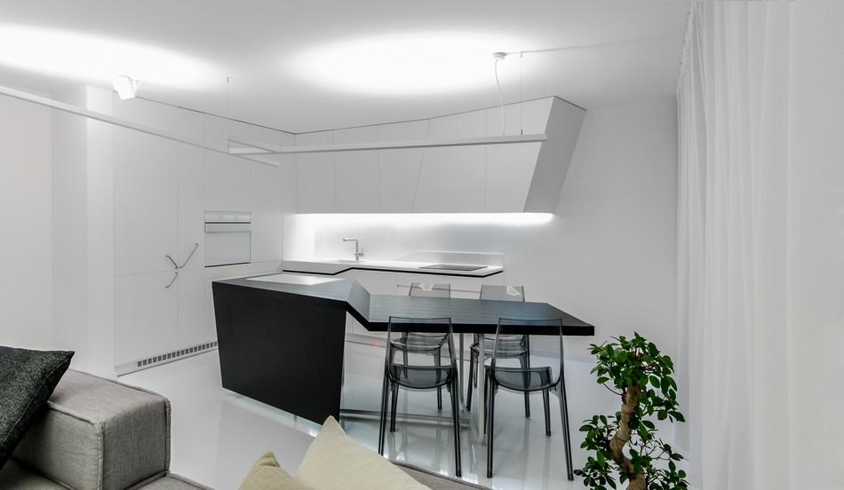 футуристичен дизайн на апартамент в Словакия_10