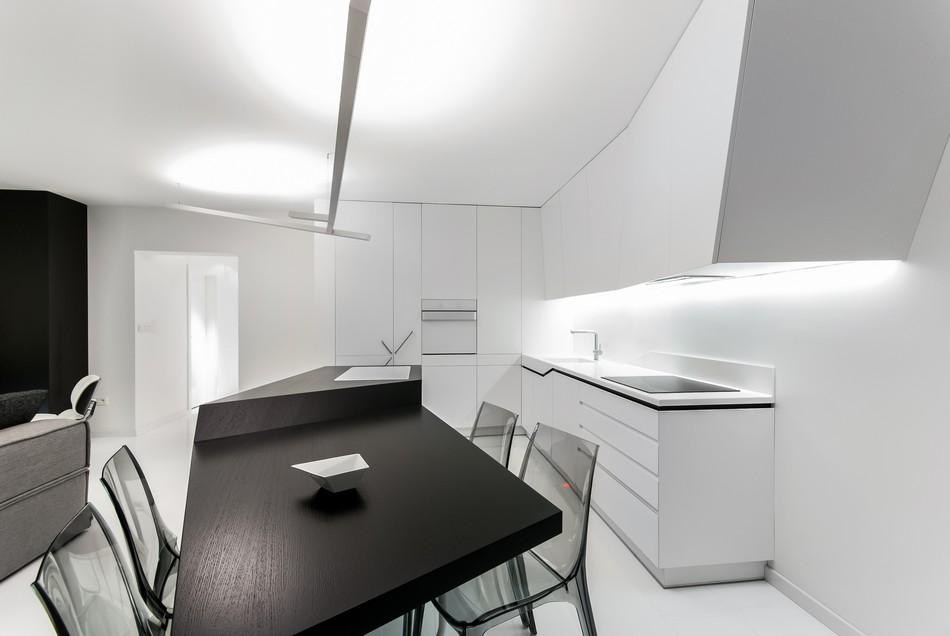 футуристичен дизайн на апартамент в Словакия_11