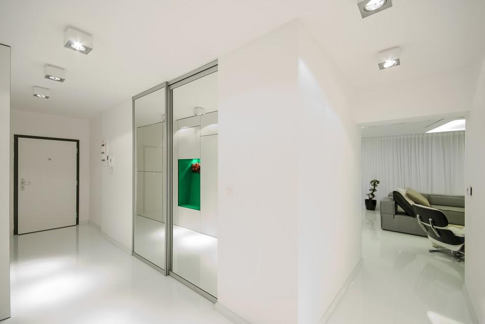 футуристичен дизайн на апартамент в Словакия_15