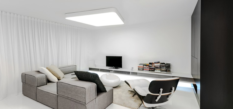футуристичен дизайн на апартамент в Словакия_3