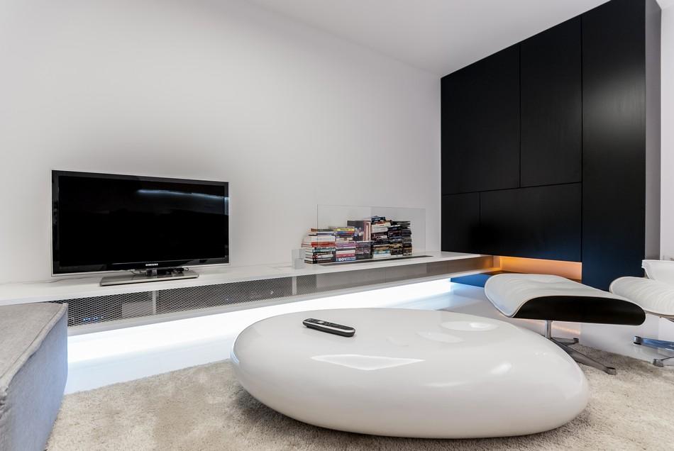 футуристичен дизайн на апартамент в Словакия_5