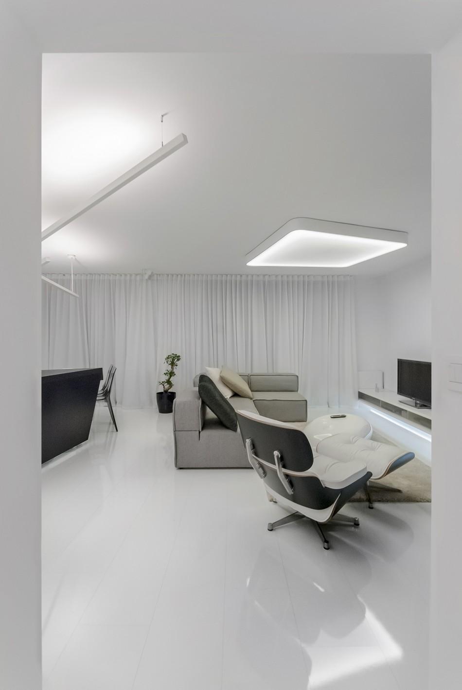футуристичен дизайн на апартамент в Словакия_6