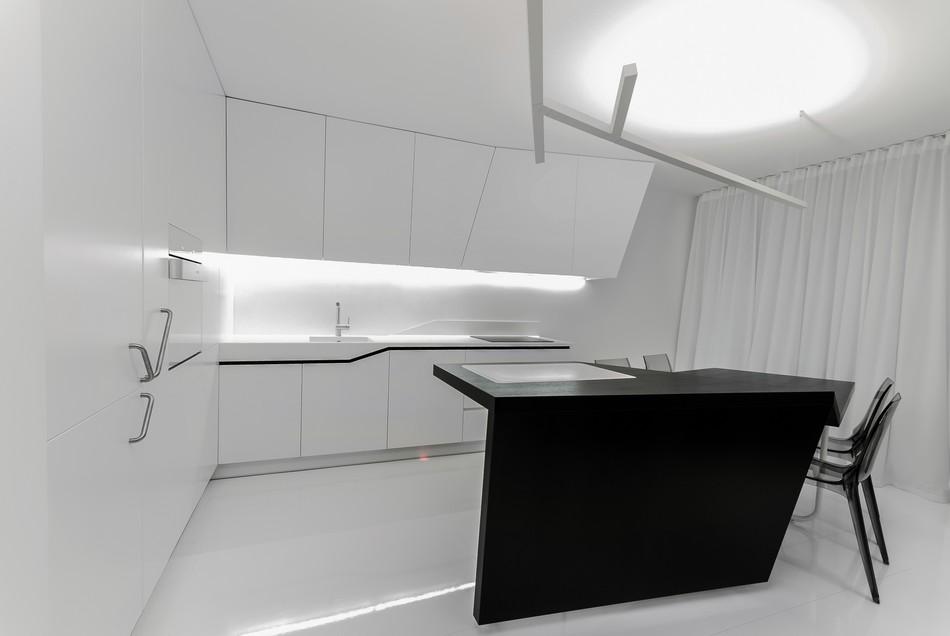 футуристичен дизайн на апартамент в Словакия_7