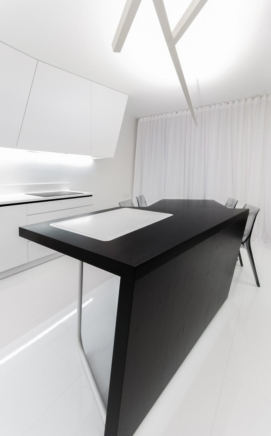 футуристичен дизайн на апартамент в Словакия_9