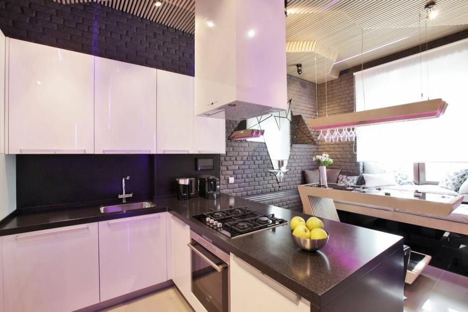 футуристична кухня 10