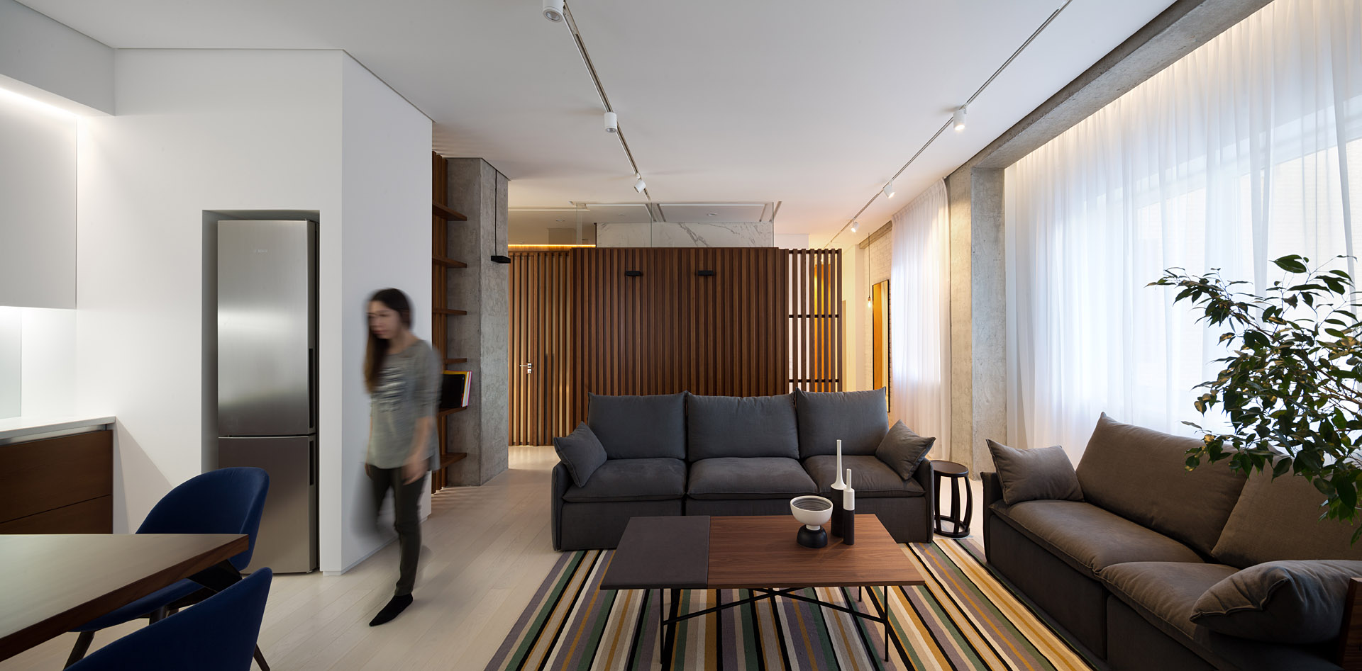 дървени панели модерен интериор_11