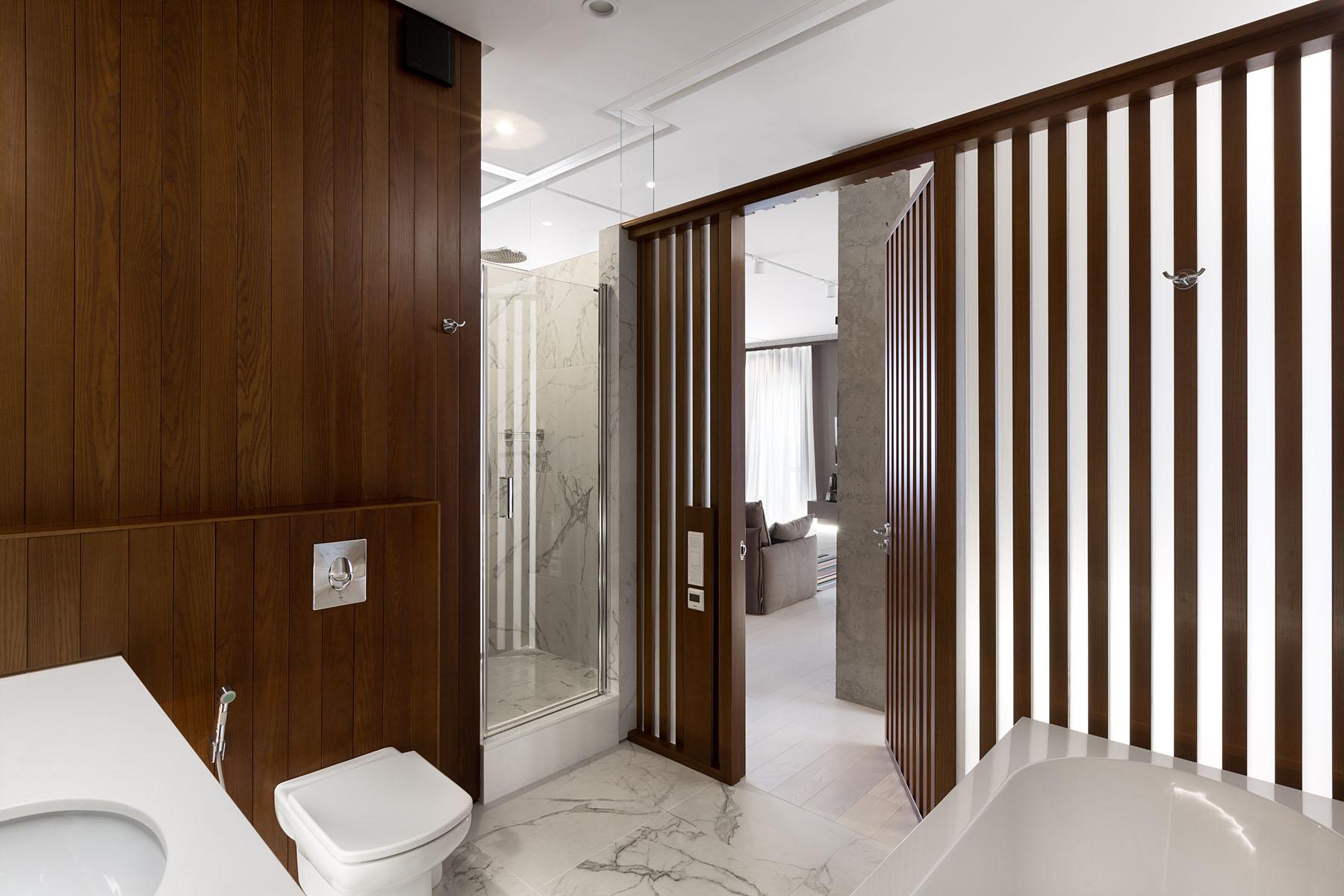 дървени панели модерен интериор_15