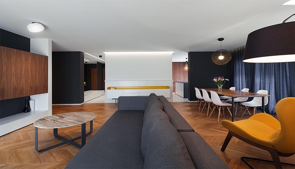 модерен апартамент класически акценти в софия_1