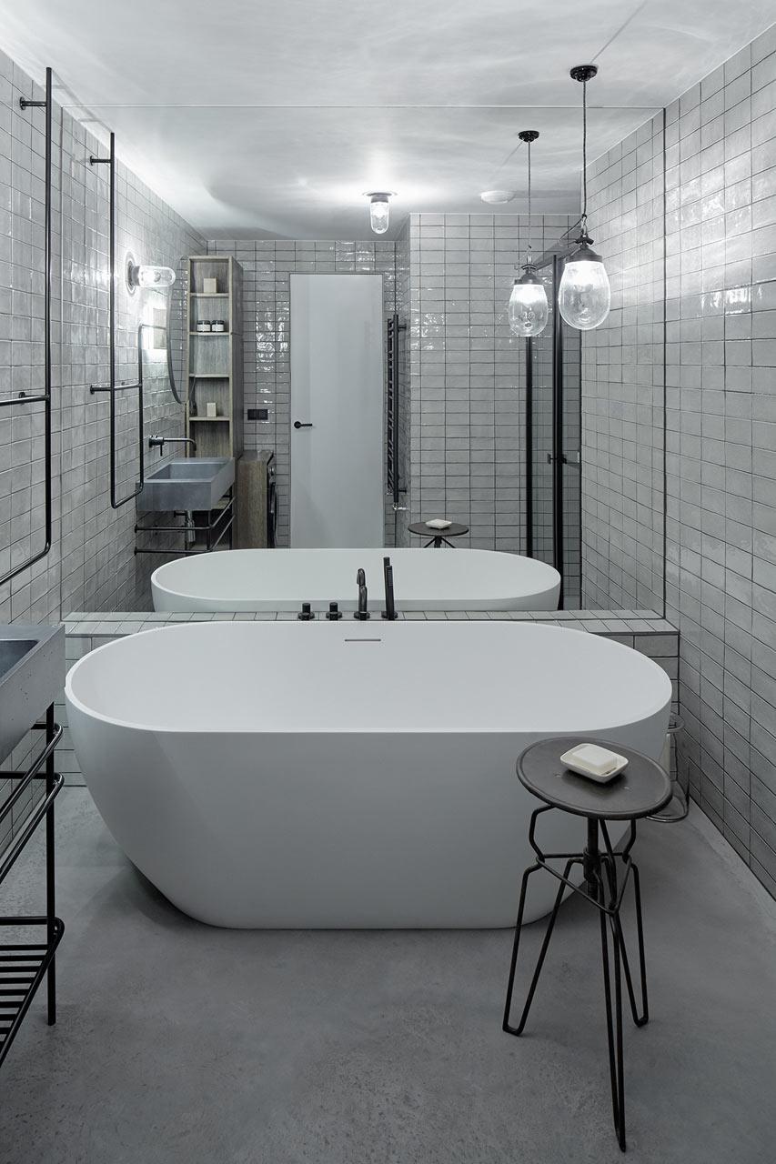 индустриален апартамент в Прага_15