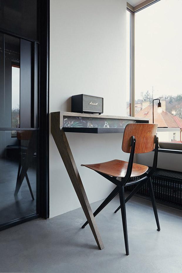 индустриален апартамент в Прага_19