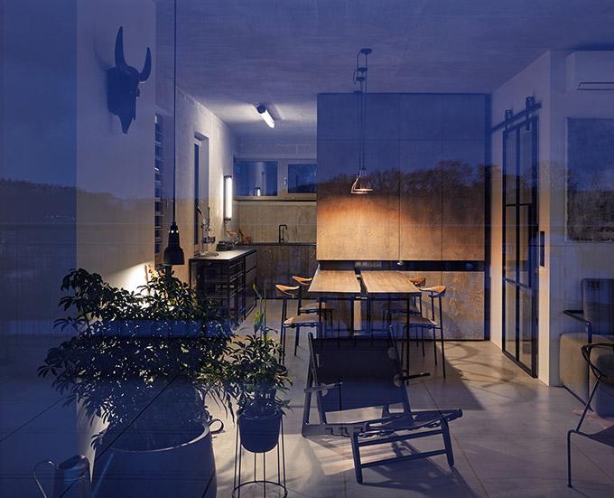 индустриален апартамент в Прага_23