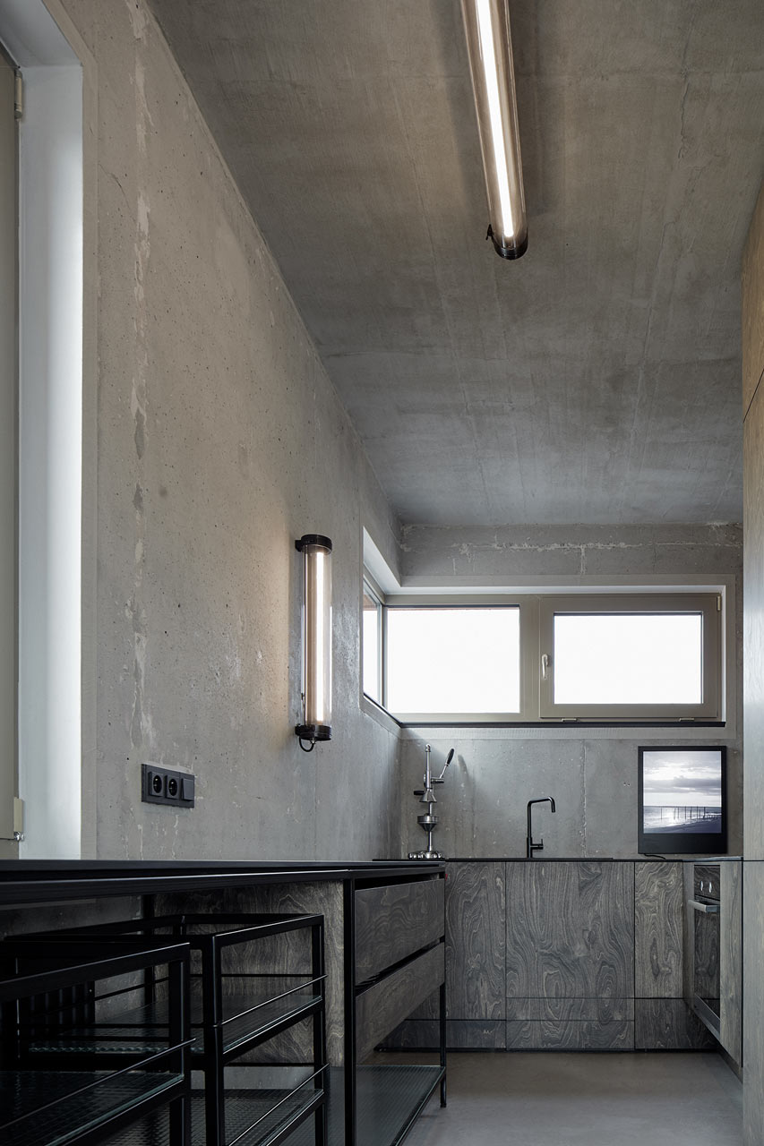 индустриален апартамент в Прага_9