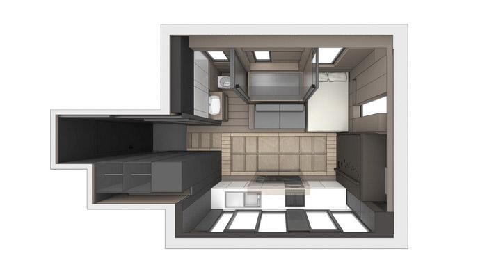 трансформиращ се мини апартамент_план
