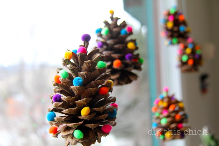 for Christmas tree decorations you can make at home