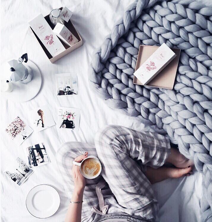 големи одеяла едра плетка мерино 9