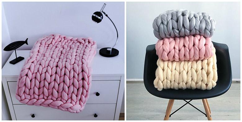 едро плетени одеяла