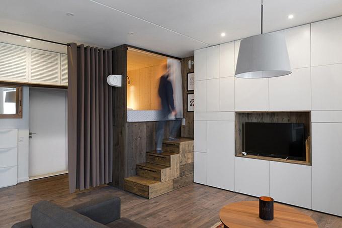 повдигната спалня малък 35 кв дом_1