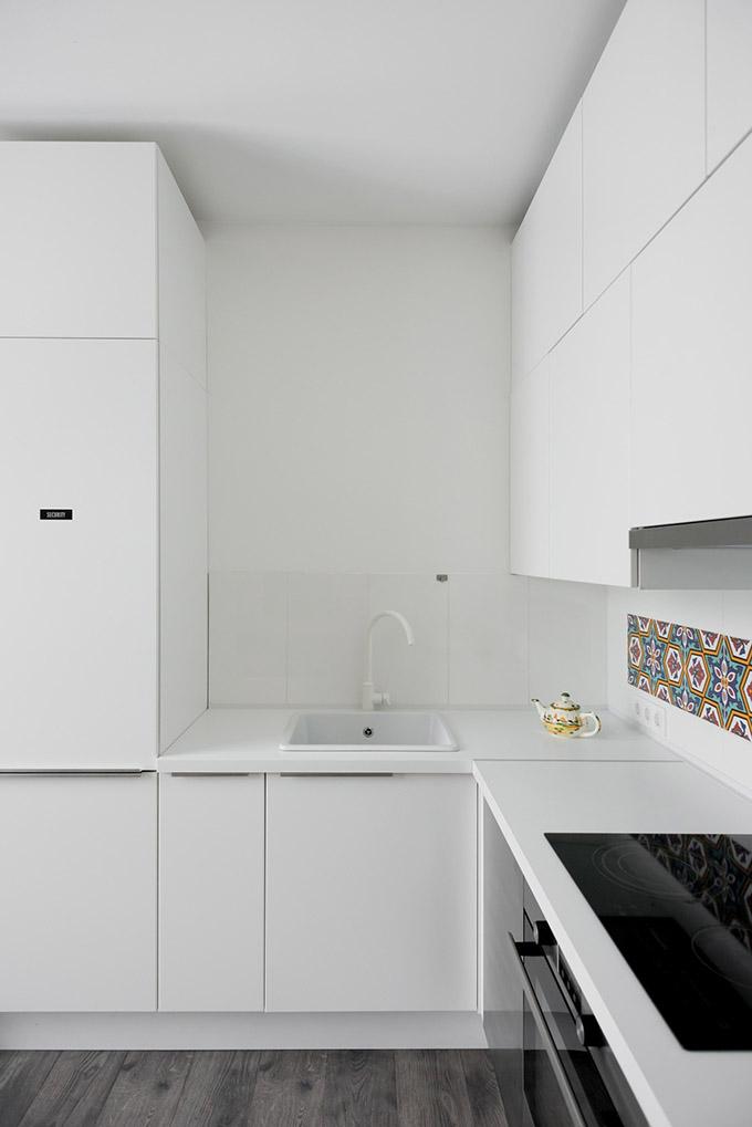 повдигната спалня малък 35 кв дом_15