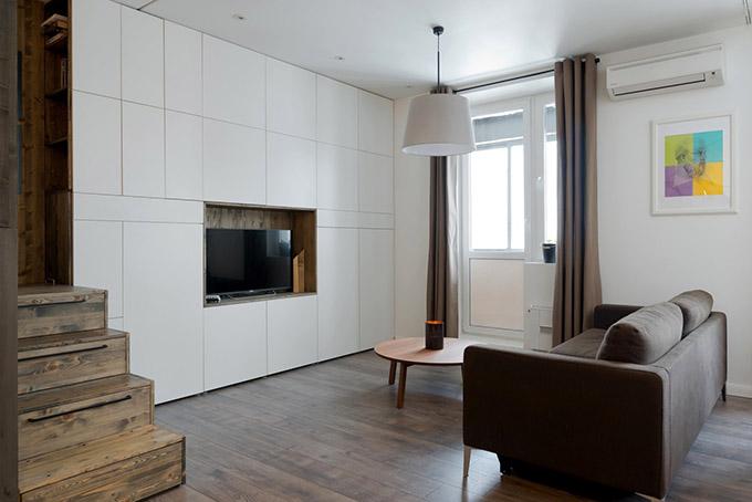 повдигната спалня малък 35 кв дом_2