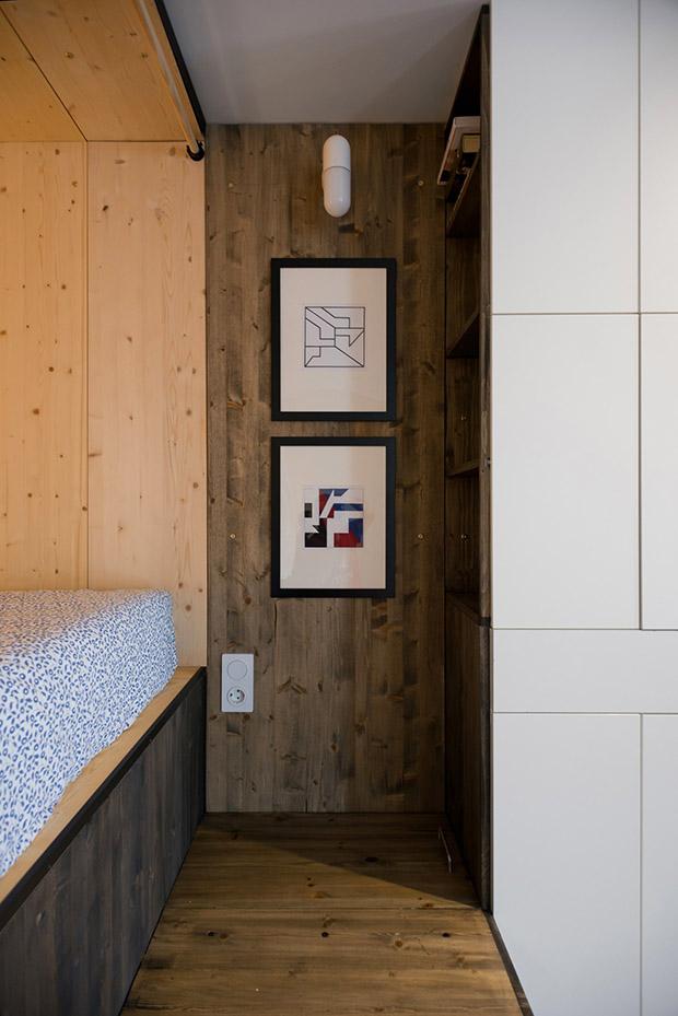 повдигната спалня малък 35 кв дом_9