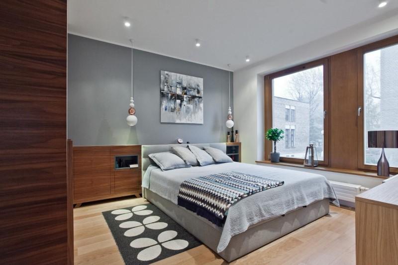 Стилен цветен интериор на апартамент_16