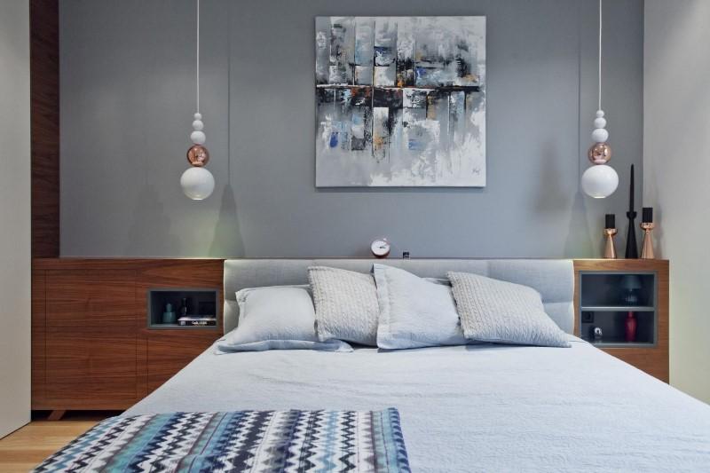 Стилен цветен интериор на апартамент_17