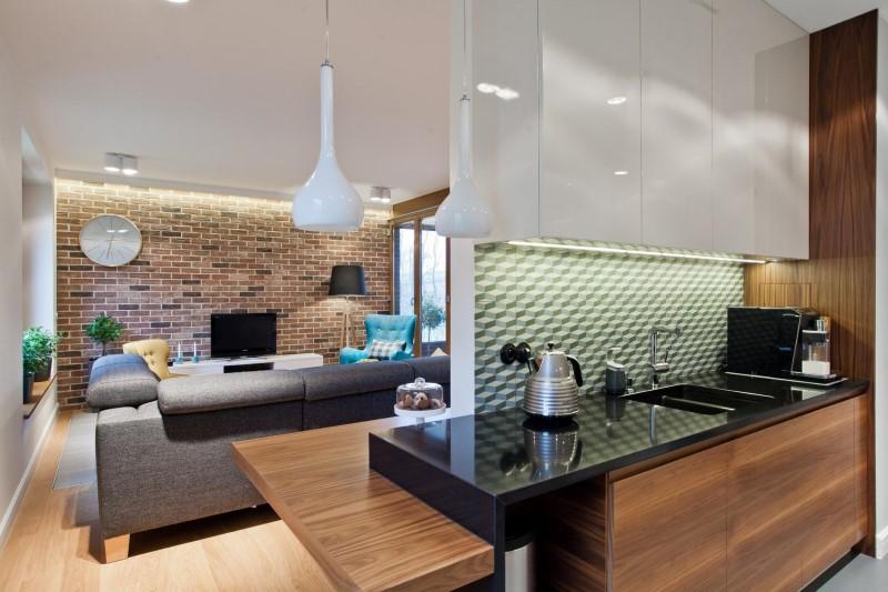 Стилен цветен интериор на апартамент_9