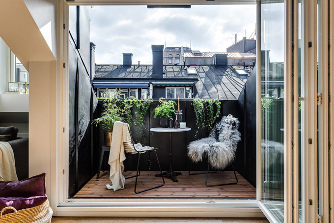 Стъклена преграда малък апартамент_12