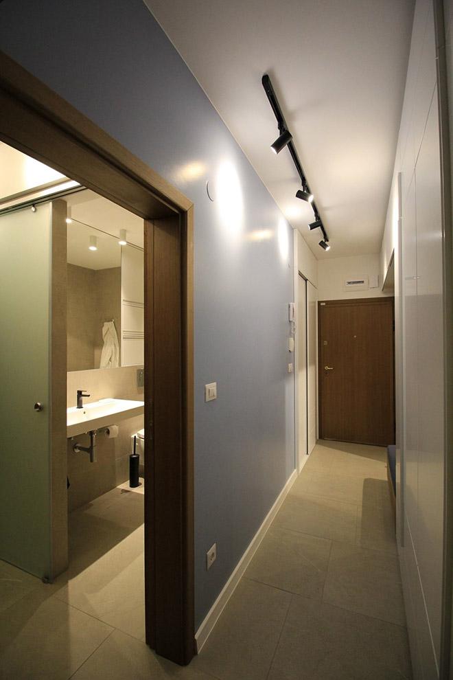 апартамент с изчистен интериор София_коридор 1