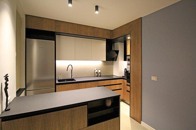 апартамент с изчистен интериор София_кухня 3