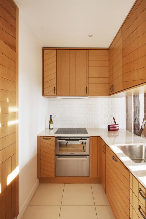 кухненски шкафове на линии