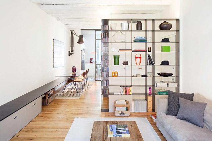 светъл семеен апартамент в Милано_1