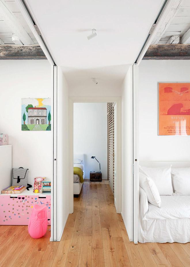 светъл семеен апартамент в Милано_12