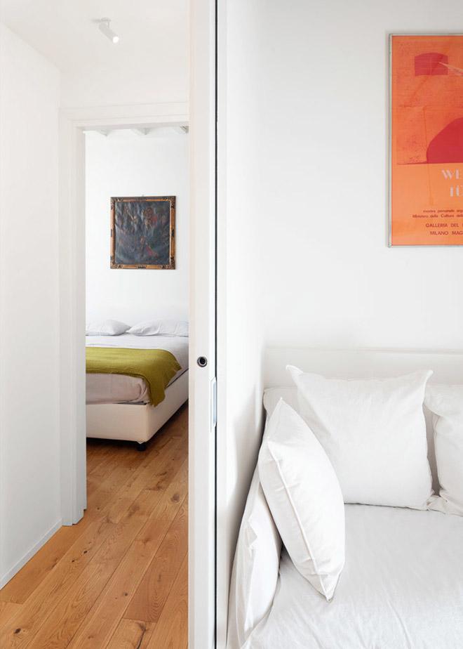 светъл семеен апартамент в Милано_13